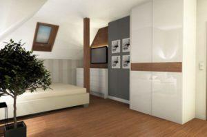 Wizualizacja 3d salon